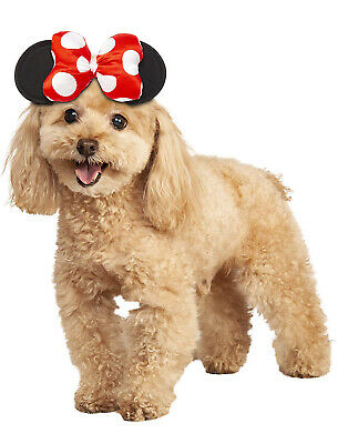 Minnie Mouse Pet Disney Mickey Mouse Clubhouse Costume Headpiece](Minnie Mouse Pet Costume)