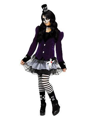 Voodoo Puppe Mädchen Kind Bann Caster Hexe Halloween Kostüm