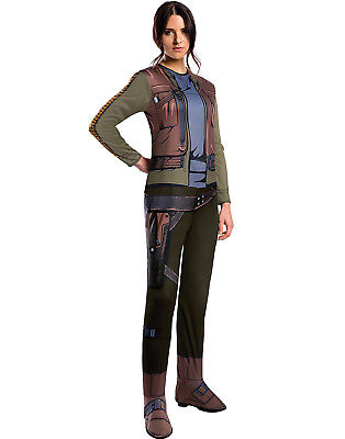Star Wars Rogue One Damen Jyn Erso Erwachsene Halloween (Star Halloween Kostüme)