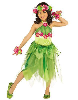 Hawaii Tänzer Mädchen Luau Fee Kinder Halloween Kostüm