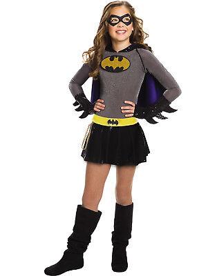 hen Batgirl Kinder Superheld Halloween Kostüm (Halloween-kostüme Superhelden-mädchen)