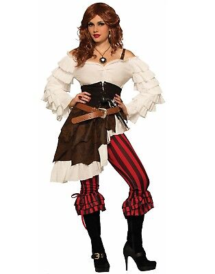 Pirate Wench Renegade Ruby Womens Halloween Costume- - Womens Pirate Wench Kostüme