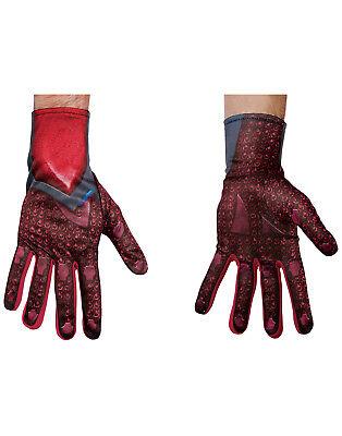 Power Rangers Film Rot Ranger Erwachsen Herren Halloween Kostüm Handschuhe