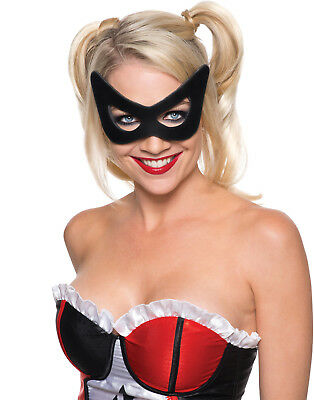Harley Quinn Dc Batman Supervillain Mask Costume