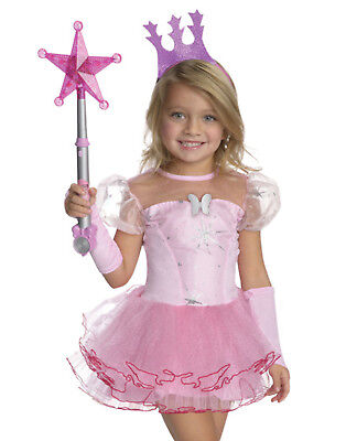 Wizard Of Oz Glinda The Good Witch Pink Tutu Girls Toddler Halloween Costume](Toddler Pink Witch Costume)