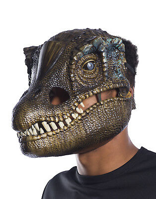 Jurassic World 2 Mens Adult Baryonyx Dinosaur Movable Jaw Costume Mask - Jaw Mask