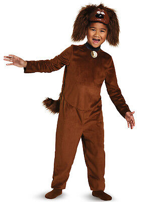Duke Classic The Secret Life Of Pets Brown Dog Puppy Childs Halloween Costume-S