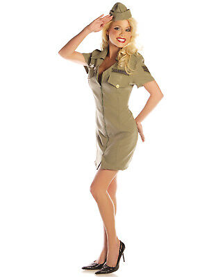 Fly Girl Womens Adult Air Force Military Halloween Costume