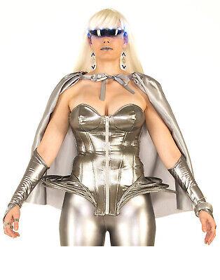 Futuristisch Damen Erwachsene Space Lady Halloween Kostüm Korsett