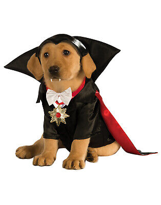Universal Studios Monster Dracula Vampire Pet Dog Cat Costume - Vampire Costumes For Dogs