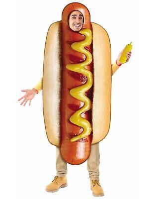 Hot Hund Herren Erwachsene Lustig Essen Halloween one - Lustig Hund Kostüme