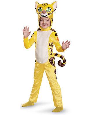 Disney Junior der Löwe Wächter Fuli Kleinkinder Mädchen Cheetah Tier Kostüm