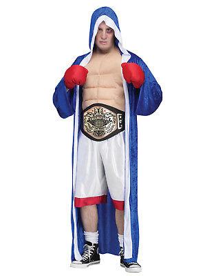 Big Champ Mens Adult Pro Boxer Rocky Sports Halloween - Boxer Halloween Costume Men