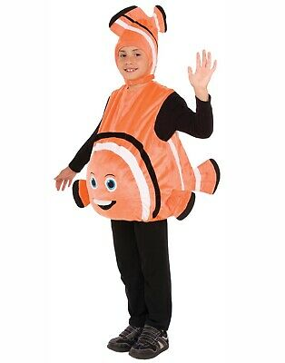 Orange Fisch Unisex Kinder Clownfisch Nemo Halloween KOSTÜM