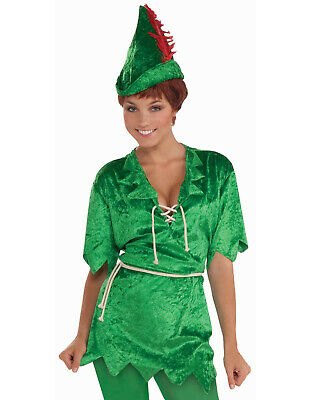 Robin Hood Tunic (Peter Pan Robin Hood Green Tunic Adult Womens)