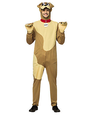 Happy Dog Mens Adult Funny Male Dog Inappropriate Halloween Costume-Os - Funny Male Halloween Costume