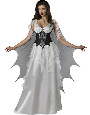 Vampire Countess Womens Adult Victorian Halloween Costume (Victorian Vampire Costumes For Women)