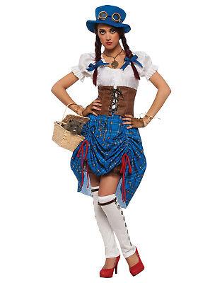 Steampunk Victorian Adult Dorothy Oz Costume (Dorothy Oz Costume Adults)