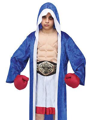 Lil' Champ Boxer Boys Boxing Robe Dress Up Halloween - Boys Boxing Robe