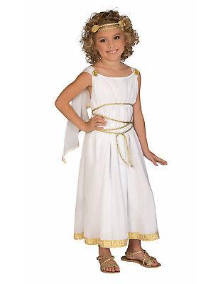 Griechische Göttin Kinder Römische Griechische Toga Mädchen Halloween (Griechische Göttinnen Kostüm Kinder)