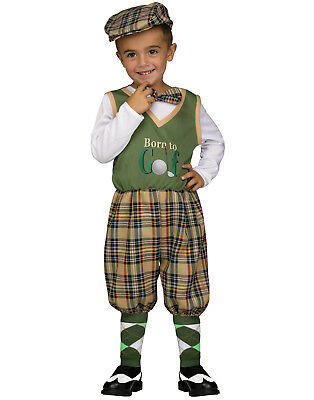 Retro Little Golfer 1920'S Toddler Golf Outfit Halloween Costume - Golfer Halloween Costume Toddler