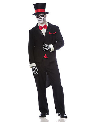 Mens Groom Day Of The Dead Dia De Los Muertos Mexican Holiday - Day Of The Dead Groom Costume