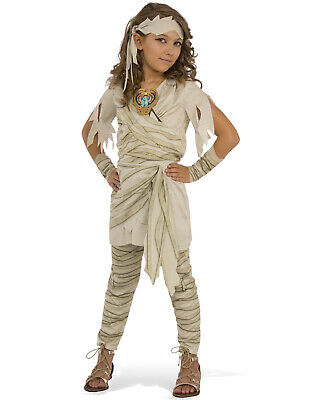 Undead Diva Girl Child Egyptian Mummy Monster Halloween Costume](Egyptian Kids Costumes)