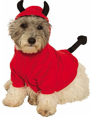 Devil Hoodie Pet Cute Red Demon Cat Dog Halloween Costume - Devil Dog Halloween Costume