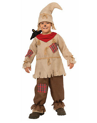 Scarecrow Boy Child The Wizard Of Oz Fairytale Halloween Costume - Wizard Costume For Boy