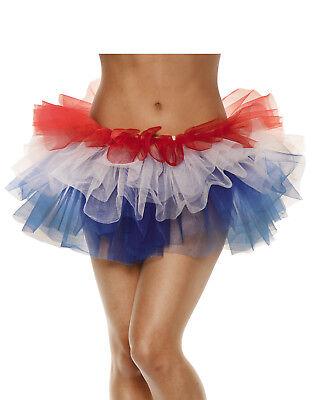 Vierte Juli Damen Erwachsene Patriotisch Holiday Kostüm (Patriot Kostüme)