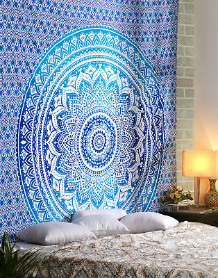 Indian tapestry hippie mandala wall hanging Bohemian Halloween dorm decor throw](Halloween Dorm Decorations)