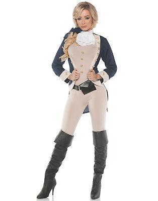 Americana Womens Founding Father Adult Halloween Costume