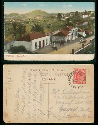 Mayfairstamps Transvaal Matanza Tenerife Postcard wwo_64017