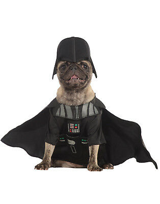 Dog Star Wars Darth Vader Villain Dress Up Pet Costume M](Dog Darth Vader Costume)