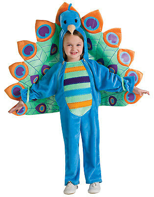 Peacock Baby Girl/Boy Infant Toddler First Halloween Warm Costume (6-12 Months)