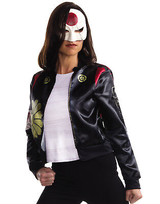 Suicide Squad Katana Asian Ninja Samurai Warrior Licensed Womens Halloween Kit - Samurai Warrior Halloween Costume