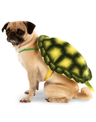 Green Sea Turtle Tortoise Shell Pet Dog Cat Costume Treat Backpack](Turtle Pet Costume)
