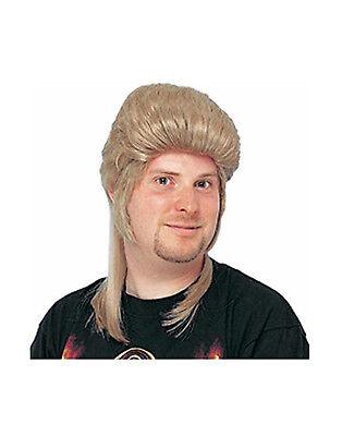 Honey Blonde Mullet Mens Adult Joe Dirt Character Deluxe Costume Wig (Joe Dirt Wig)