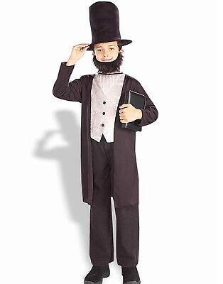 Jungen ABE Lincoln President Honest ABE Abraham Lincoln Kinder Halloween (Kinder Abraham Lincoln Kostüme)