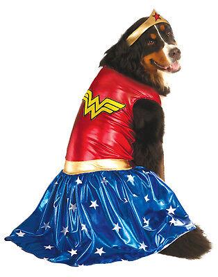 Wonder Woman Dc Super Heros Big Dogs Pet Halloween - Wonder Pet Halloween Costumes