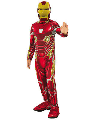 Infinity War Iron Man Boys Child Superhero Halloween Costume