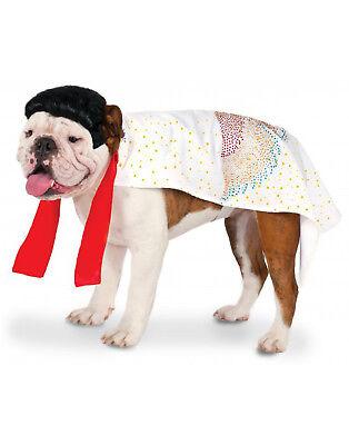 Pet Costume King Of Rock Elvis Presley Dog/Cat Costume - Dog Elvis Costume