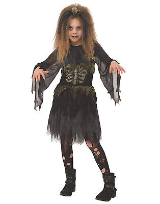 Little Zombie Girl Childs Evil Dead Monster Halloween Costume