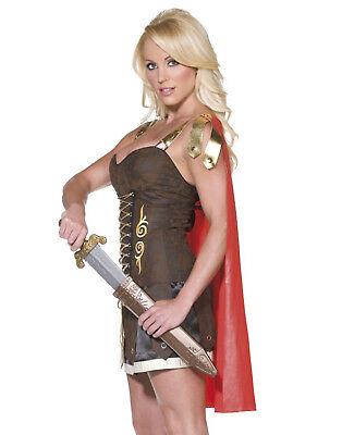 Sexy Gladiator Römisch Griechisch Zina Prinzessin Krieger Halloween Kostüm - Griechisch Sexy Kostüm
