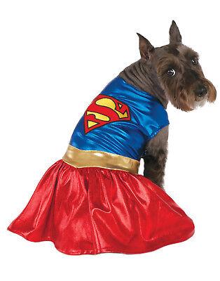 Superman Supergirl Haustier Hund Katze Dc Superheld Halloween Kostüm