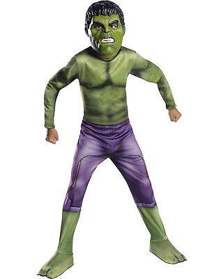 Thor Ragnarok Jungen Unglaubliche Hulk Kinder Marvel Superheld Halloween Kostüm ()