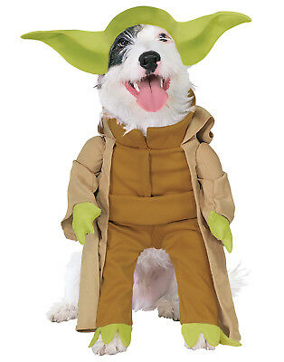 Dog Star Wars Yoda Dress Up Costume With Plush - Dog Costumes Yoda