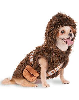 Star Wars Chewbacca Wookiee Pet Dog Cat Halloween Costume (Chewbacca Dog Costume)