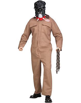 Garten Halloween-kostüm (Junk Garten Unheimlich Wächter Hund Erwachsene Herren Lustig Halloween Kostüm)