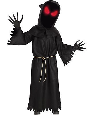 Fade In Out Big Head Ghost Demon Phantom Childs Halloween Costume